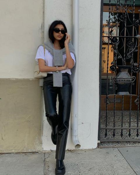 Фото №1 - С чем носить кожаные брюки: учимся у Русланы Джи