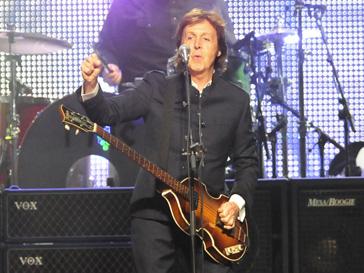 Пол Маккартни (Paul McCartney) вдохновляет американцев