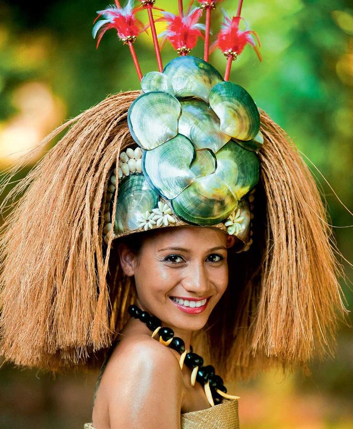 Фото №1 - Мисс мира: Самоа. Пестрая лента
