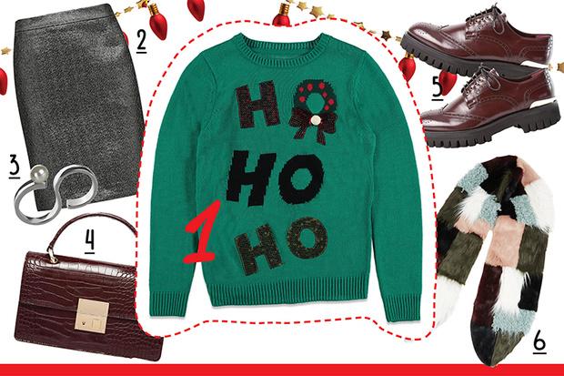 Фото №4 - С чем носить рождественский пуловер