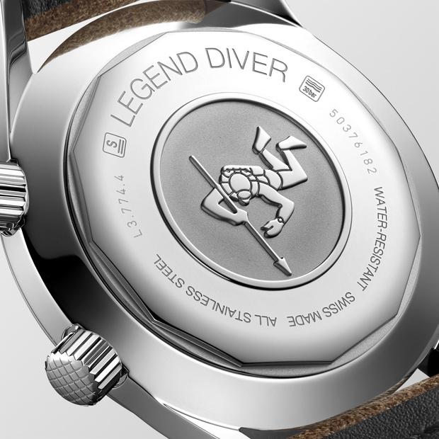 Фото №9 - На земле и под водой: новые версии легендарных часов Longines Legend Diver