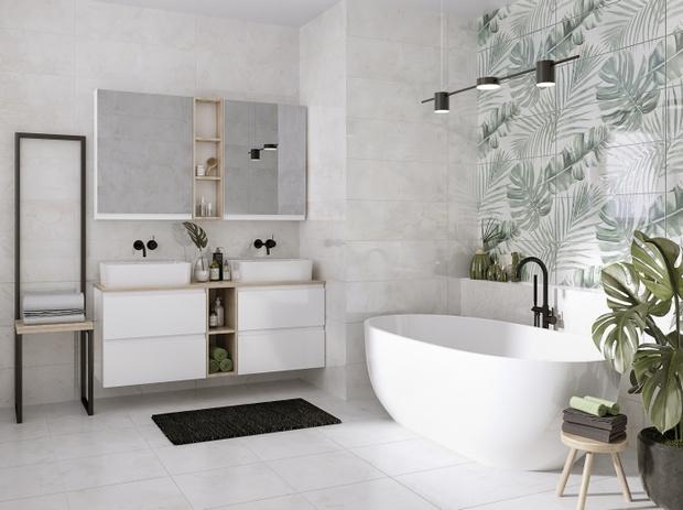 Фото №3 - Тренды 2021: ванная комната в стиле спа