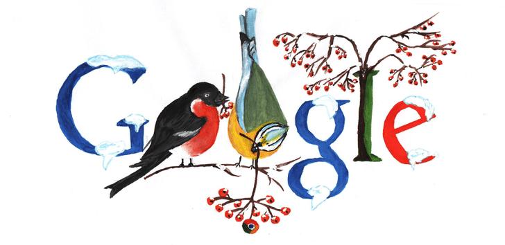 Фото №1 - «Дудл для Google — 2015»: 30 лучших рисунков