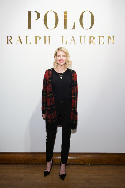 Эмма Робертс на презентации Ralph Lauren Polo Mens and Womens