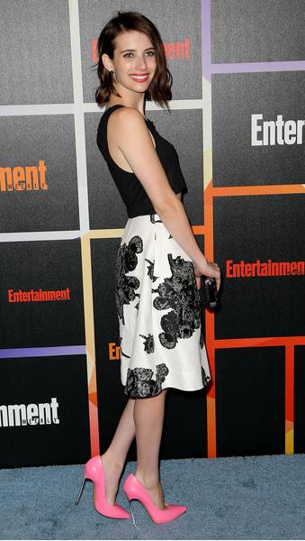 Эмма Робертс на фестивале Comic Con 2014