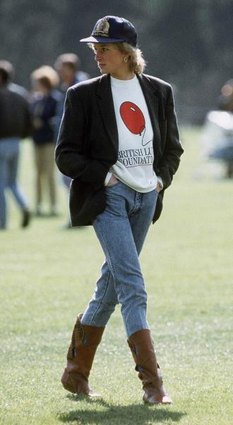 Фото №4 - Принцесса в джинсах: как Диана носила деним
