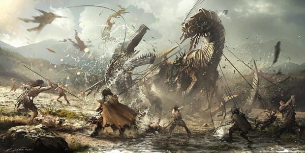 Эскиз для игры «Горизонт»