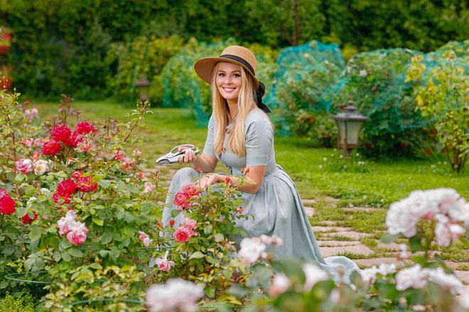 Фото №4 - Мария Кожевникова: «Сажаю помидоры, завели кур, в планах— пасека»