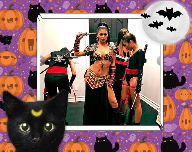 Фото №6 - Лучшие костюмы звезд с прошедшего Хэллоуина
