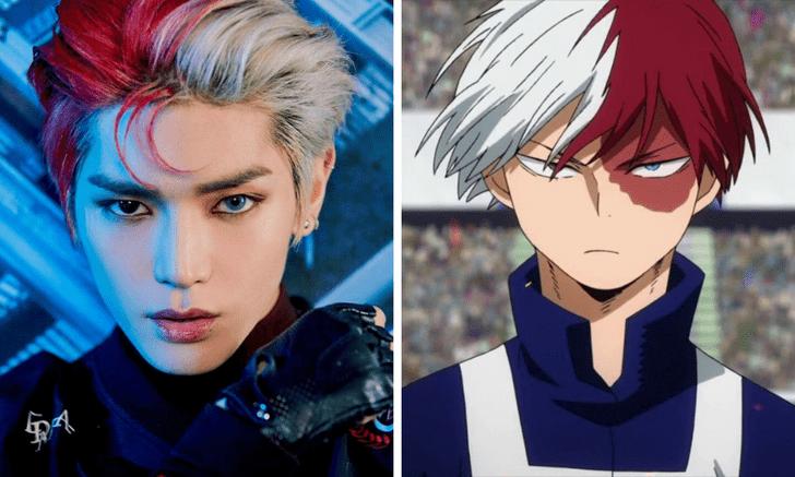Фото №6 - Кто из k-pop айдолов сыграл бы твоих любимых героев аниме? 🔥