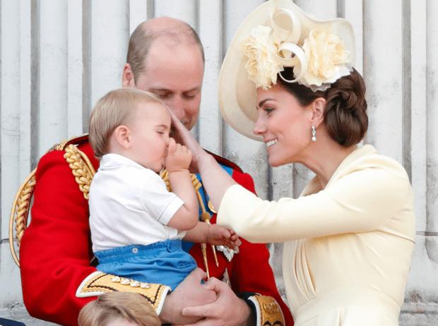Фото №1 - Каким было одно из первых слов принца Луи (вы удивитесь)
