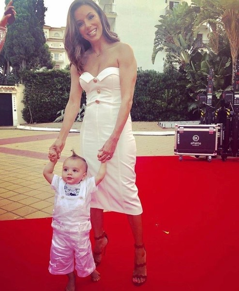 Ева Лонгория с сыном