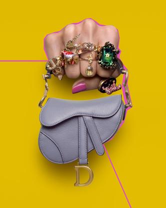 Фото №2 - Идеальный летний аксессуар: как выглядят все микро-сумки Dior (и с чем их носить)