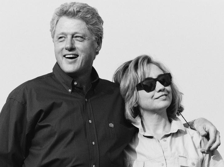 Фото №1 - Билл и Хиллари Клинтон: свободные отношения и слезы бывшей первой леди