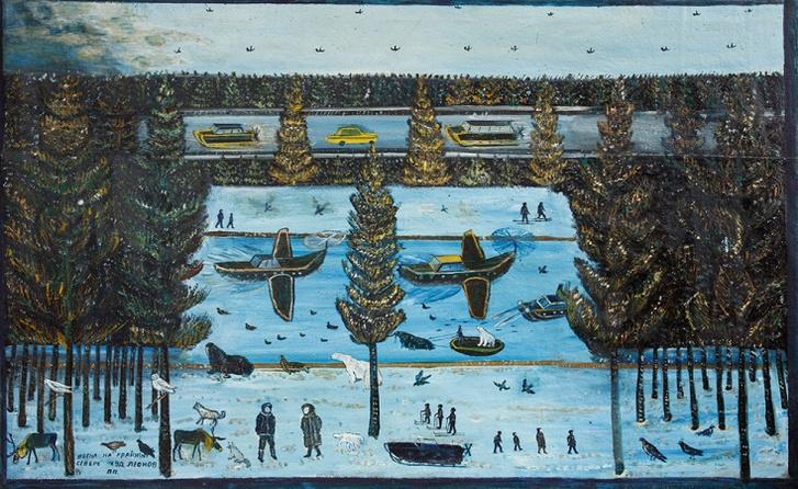 Фото №1 - Выставка «Зазеркалье Павла Леонова» в ММОМА