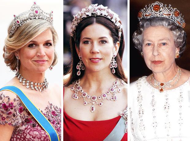 Фото №1 - Камни судьбы: самые роскошные рубиновые тиары королевских семей