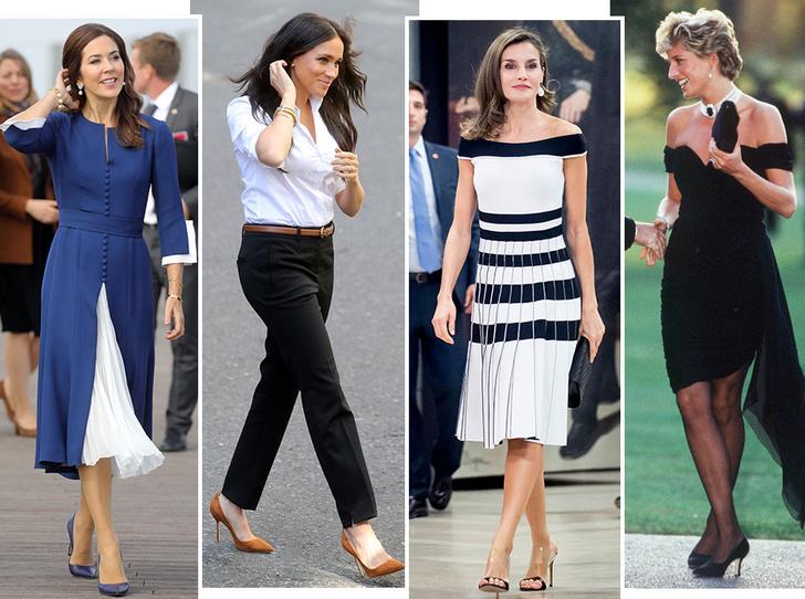 Фото №1 - Стельки, сеточки и резинки: секретные модные лайфхаки королевских особ