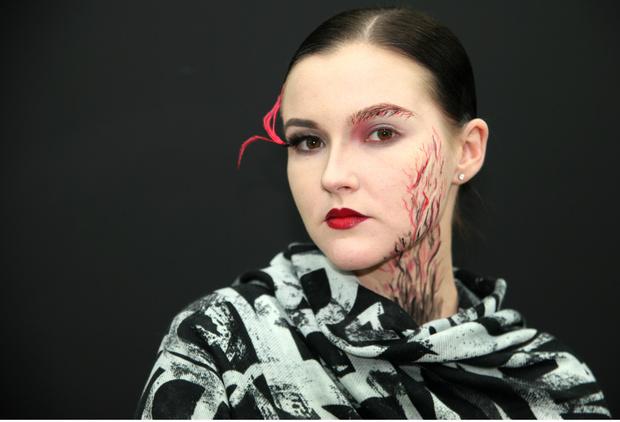 Фото №1 - Как создать простой beauty-образ на Хэллоуин