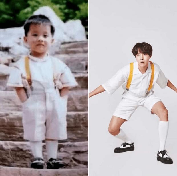 Фото №7 - Милота дня: BTS воссоздали свои детские фотографии
