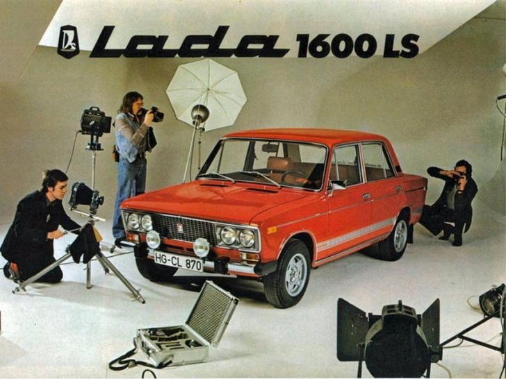 Фото №7 - Как советские автомобили рекламировали за рубежом