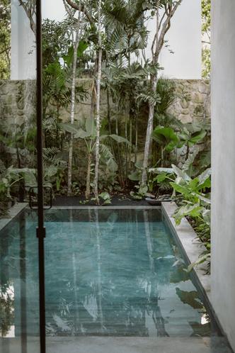 Фото №6 - Бруталистская бетонная вилла в джунглях Тулума