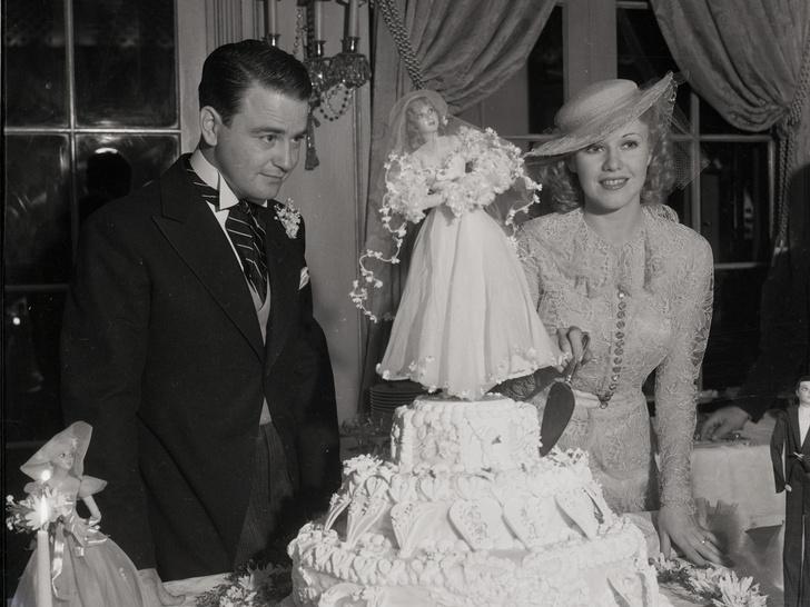 Фото №5 - Как выходили замуж легенды Голливуда: самые красивые ретро-фотографии