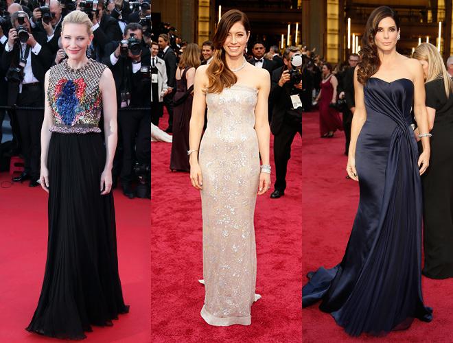 Фото №14 - Как встать, чтобы быть стройнее: позы актрис на «Оскаре»