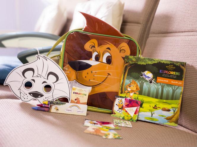 Фото №4 - Etihad Airways представляет новые развлекательные наборы для детей