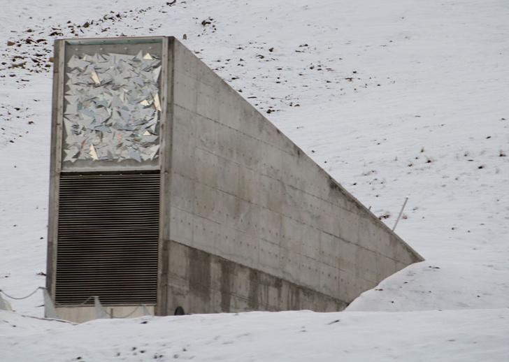 Фото №1 - Хранилище Судного дня оказалось под угрозой затопления