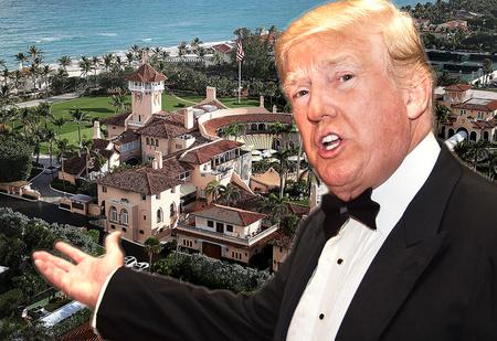 Фотографии дворца Трампа, где он будет жить после Белого дома
