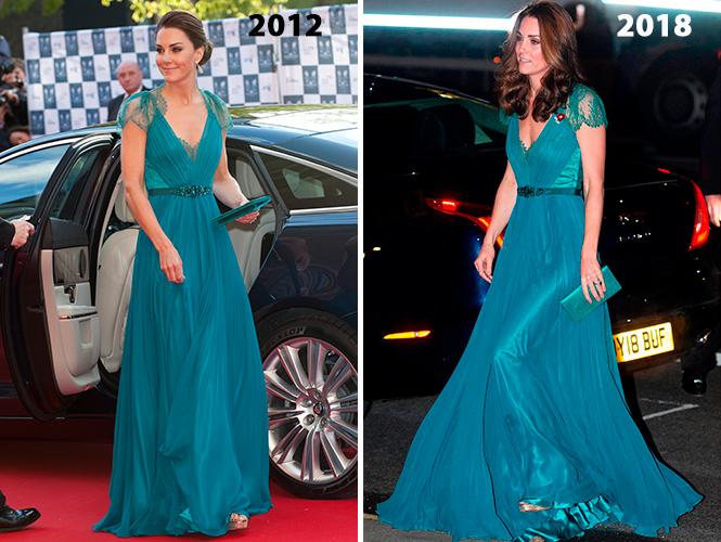 Фото №4 - Почему Кейт носит старые наряды, а Меган покупает новые