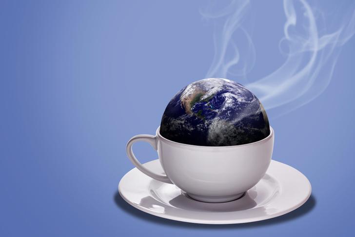 Фото №1 - Сравнение объема всей воды на нашей планете с самой планетой (видео)