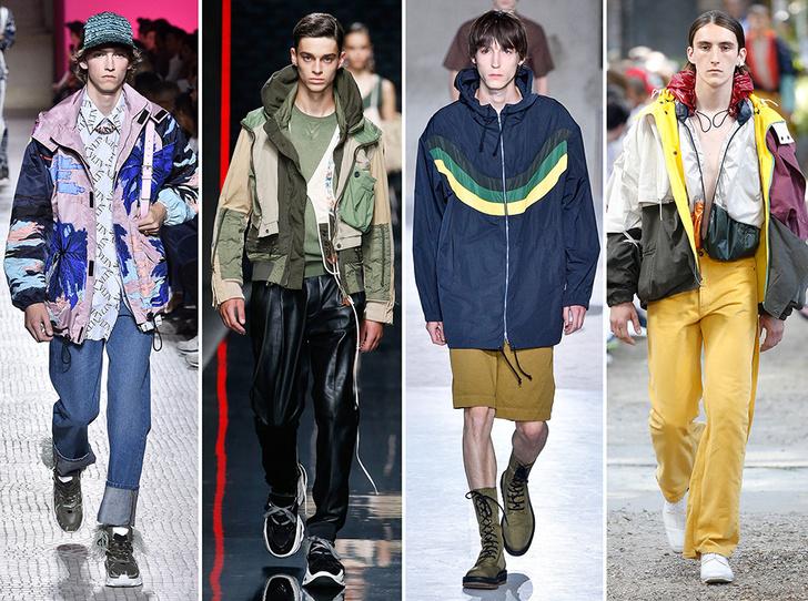 Фото №7 - 11 трендов c Недель мужской моды SS19, которые пригодятся не только мужчинам