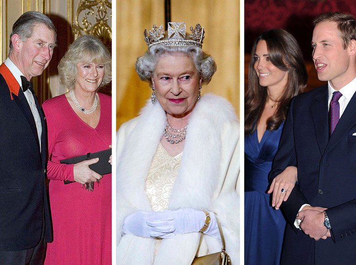 Фото №1 - Особое мнение: как Королева реагировала на помолвки принца Чарльза и внуков