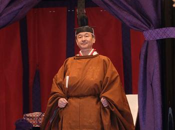 Монархи всего мира на церемонии интронизации императора Нарухито