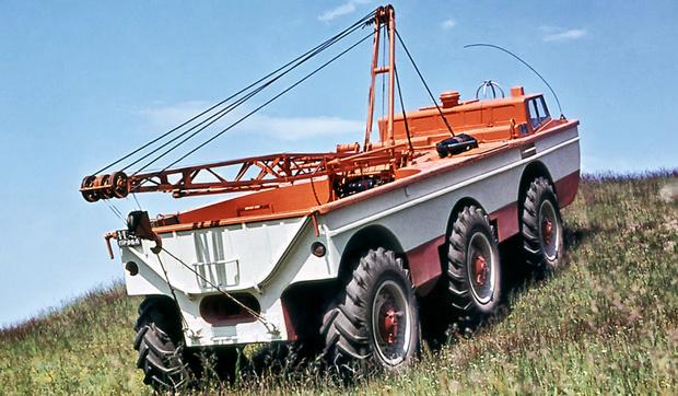 ПЭУ-1 «Кран»— дизайнерский шедевр профессиональной эстетики