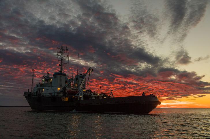 Фото №1 - Экспедиция РГО и Северного флота нашла в Арктике подводный объект