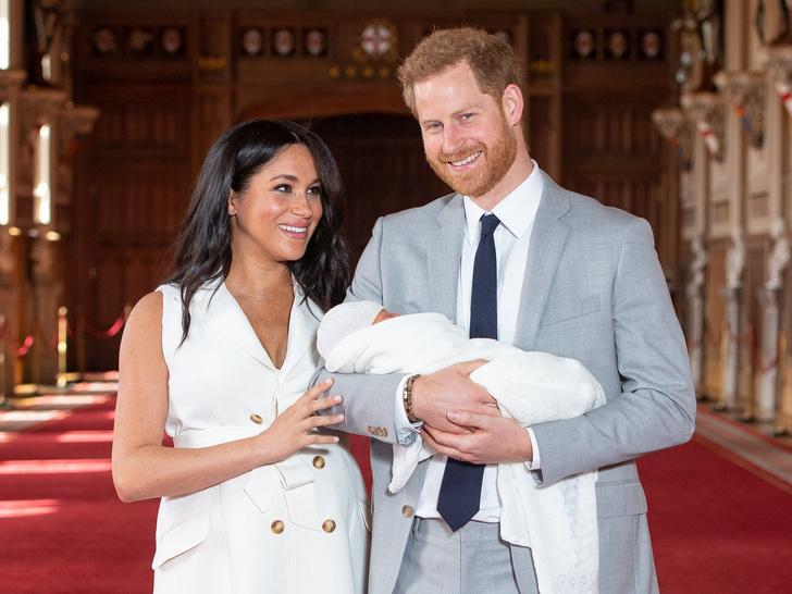 Фото №1 - Почему Меган и Гарри назвали своего первенца Арчи Харрисоном
