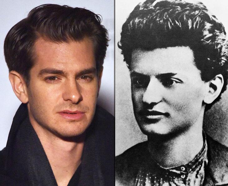 Фото №10 - Взрыв из прошлого: знаменитости, невероятно похожие на исторических личностей