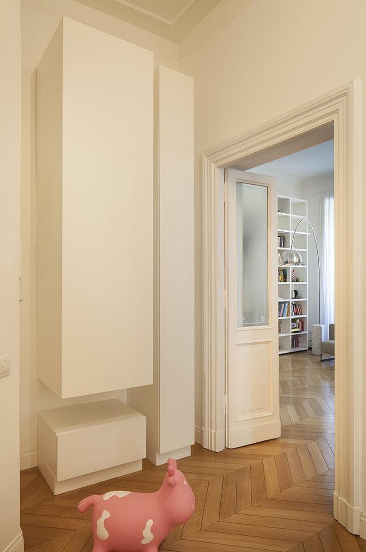 Фото №7 - Современная квартира в историческом доме в Риме