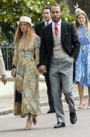 Фото №4 - Джеймс Миддлтон представил возлюбленную на королевской свадьбе