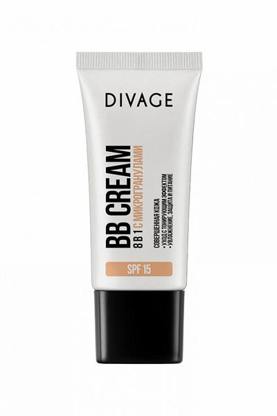BB-крем с микрогранулами 8 в 1, DIVAGE
