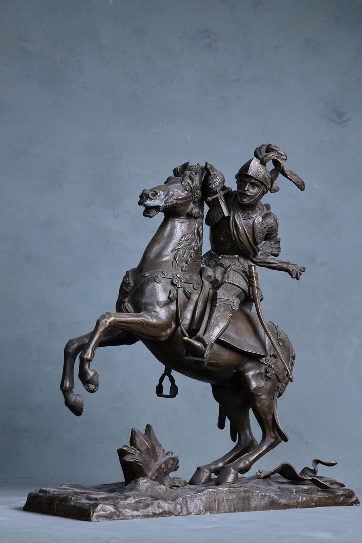 Фото №8 - «(Не)подвижность»: русская классическая скульптура в Санкт-Петербурге