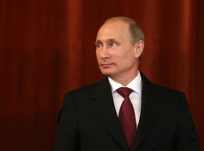 Фото №1 - Пять причин влюбиться в Владимира Путина