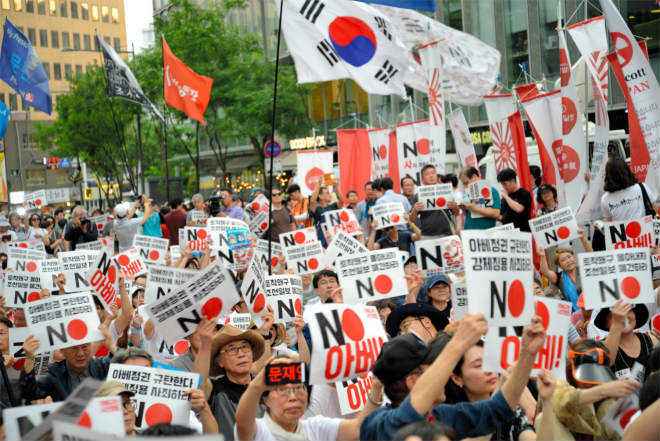 Фото №1 - Новая торговая война: теперь между Японией и Южной Кореей