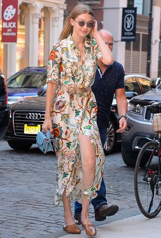 Фото №4 - 20 модных платьев-рубашек как у Меган Маркл и Джиджи Хадид