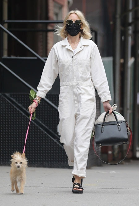 Наоми Уоттс в Нью-Йорке