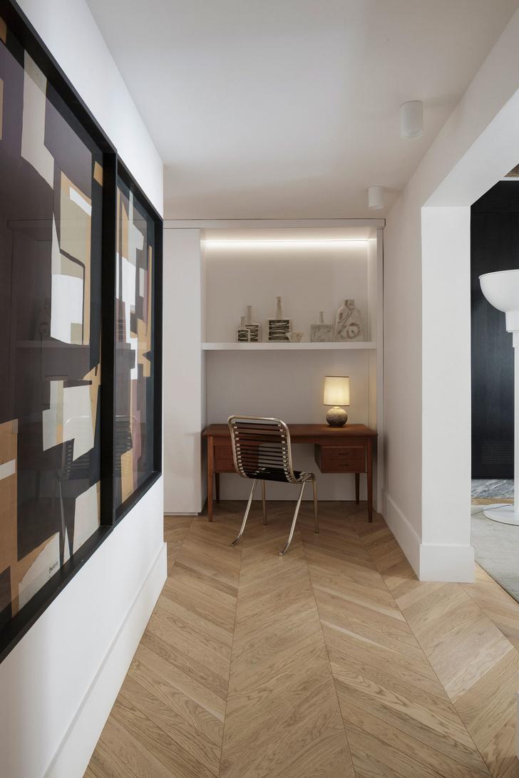 Фото №8 - Нетипичная парижская квартира в черно-белой гамме