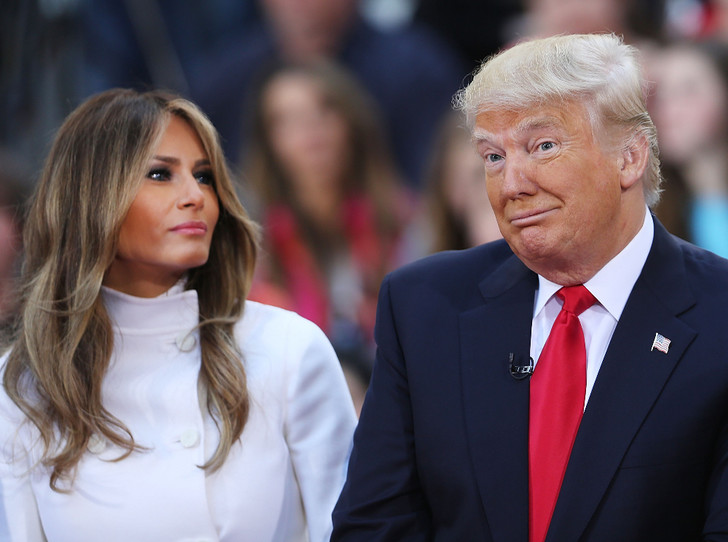 Фото №3 - Развод или временные трудности: что происходит между Меланией и Дональдом Трампом