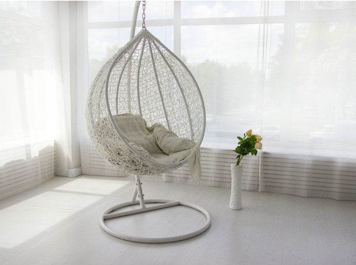 Фото №2 - Подвесное кресло как часть интерьера: советы дизайнеров